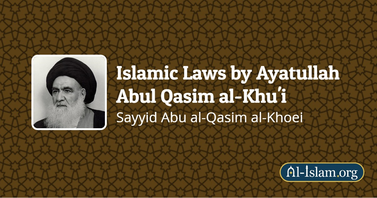Kinds of Blood Seen By Women | Islamic Laws by Ayatullah
