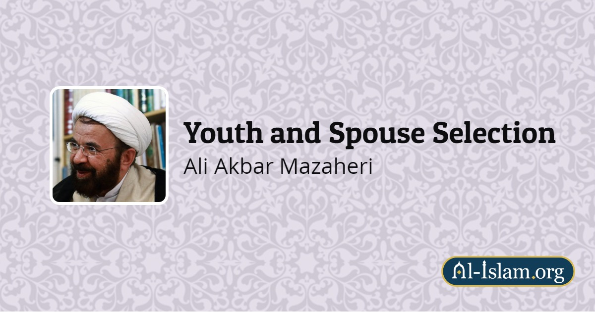 Chapter Seven: Engagement Period | Youth and Spouse