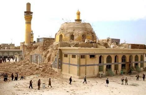 2 Shrines Of The Holy Imams A After 22 Feb 2006 Bombing