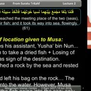 The Story of Khizr & Musa [part 2]