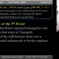 The Story of Khizr & Musa [part 10]